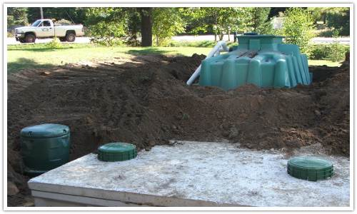 Septic systems for Ecoflow septic system
